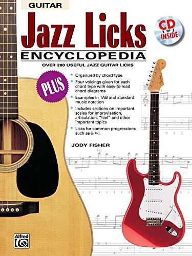 9780739011188: Jazz Licks Encyclopedia: Over 280 Useful Jazz Guitar Licks, Book & CD (The Ultimate Guitarist's Reference Series)