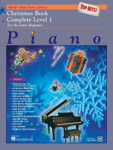 Alfred's Basic Piano Library Top Hits! Christmas Complete, Bk 1: Alfred Music