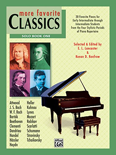 More Favorite Classics, Book 1: Solo: edited by Lastaster & Renfrow