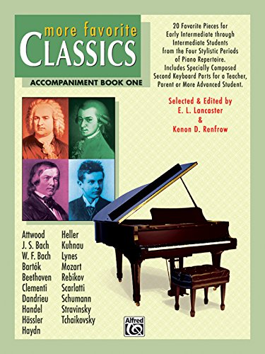 More Favorite Classics, Book 1: Accompaniment: edited by Lancaster