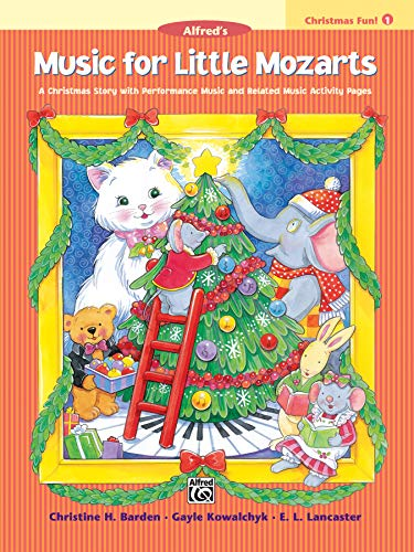 9780739012505: Music for Little Mozarts Christmas Fun - 1