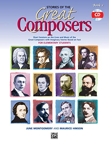9780739012796: Stories of the Great Composers: Book & CD (Learning Link)