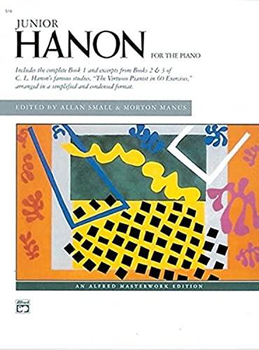 9780739012901: Junior Hanon (Alfred Masterwork Edition)