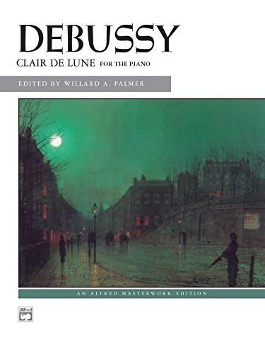 9780739012925: Clair de lune: from Suite Bergamasque (Alfred Masterwork Edition)