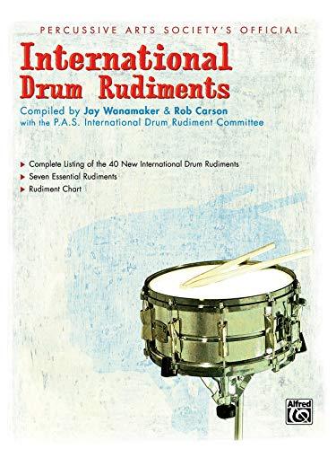 9780739012963: International Drum Rudiments