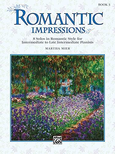9780739013175: Martha Mier: Romantic Impressions Book 3 Piano