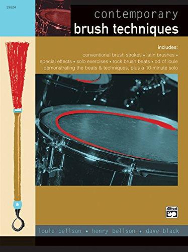 9780739013281: Contemporary Brush Techniques: Book & CD