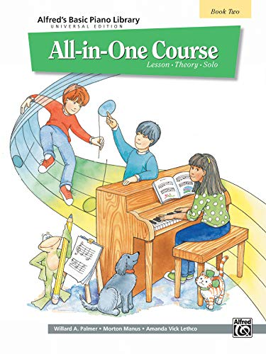 9780739013311: Alfred's Basic Piano Library All-in-One Course Book 2: Lesson - Theory - Solo