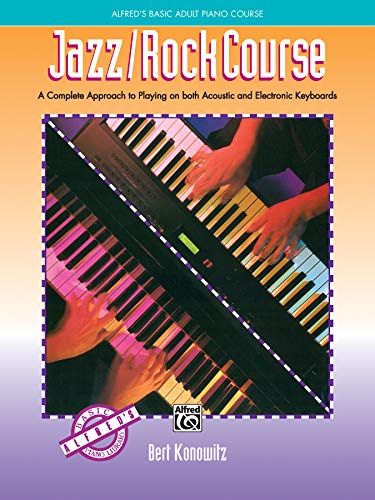9780739013335: Alfred's Basic Adult Jazz/Rock Course (Alfred's Basic Piano Library)