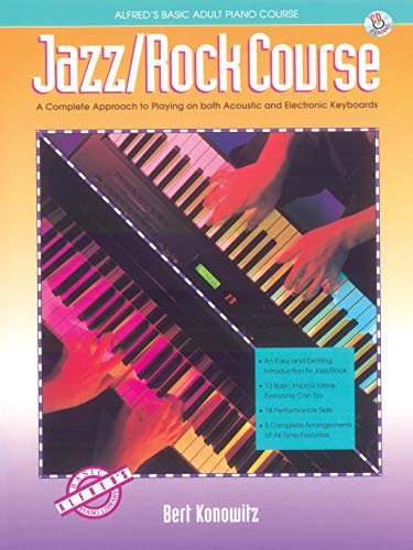 9780739013342: Alfred's Basic Adult Jazz/Rock Course: Book & CD (Alfred's Basic Piano Library)