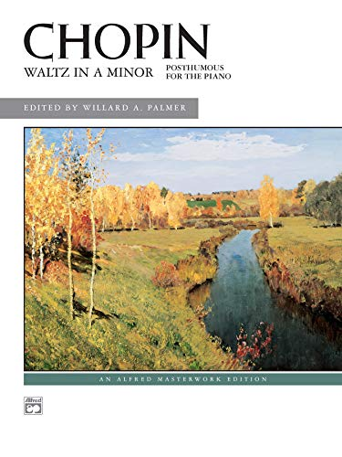 9780739013403: Waltz in A minor: Posthumous for the Piano (Sheet) (Alfred Masterwork Edition)