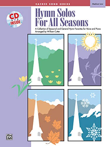9780739013700: Hymn Solos for All Seasons: Medium Low Voice, Book & CD