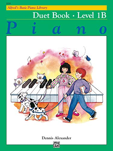 9780739013762: Alfred's Basic Piano Library: Duet Book, Level 1B