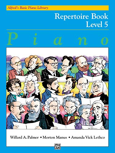 9780739013823: Alfred's Basic Piano Library Repertoire, Bk 5