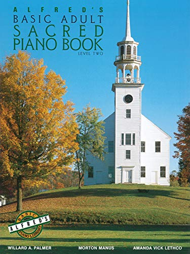 9780739014134: Alfred's Basic Adult Piano Course Sacred Book, Bk 2