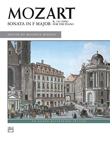 9780739014240: Sonata in F Major, K. 332 (Alfred Masterwork Edition)