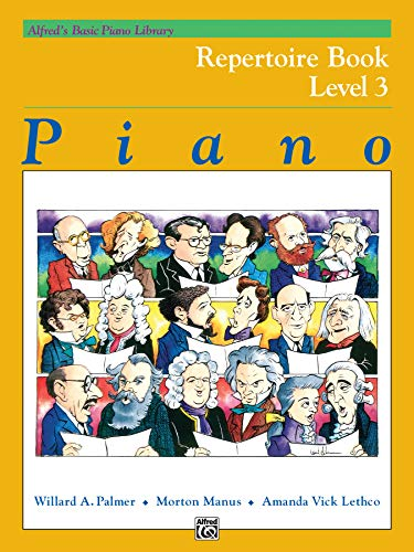 9780739014257: Alfred's Basic Piano Library Repertoire, Bk 3 (Alfred's Basic Piano Library: Level 3)