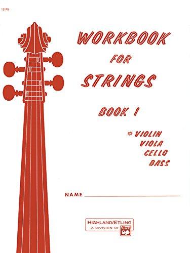 9780739014424: Workbook for Strings, Book 1 Instrument: Violin