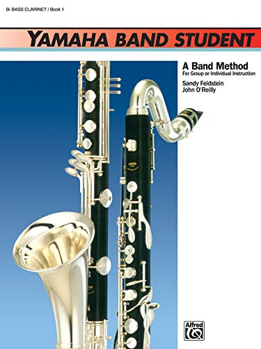 9780739014660: Yamaha Band Student, Bk 1: B-Flat Bass Clarinet (Yamaha Band Method)