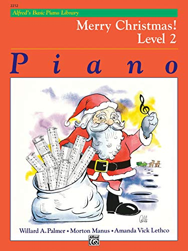 9780739014776: Alfred's Basic Piano Course: Merry Christmas! Level 2