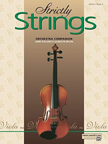 9780739015124: Strictly Strings, Book 3: Viola