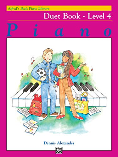 9780739015445: Alfred's Basic Piano Library Duet Book, Bk 4