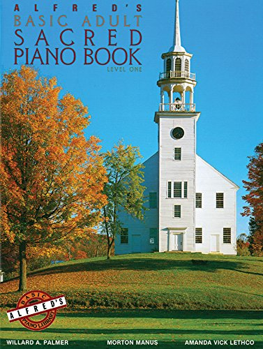 9780739015476: Alfred's Basic Adult Piano Course Sacred Book, Bk 1