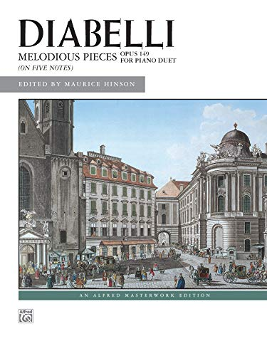 9780739015513: Diabelli - Melodious Pieces on Five Notes, Op. 149 (Alfred Masterwork Editions)