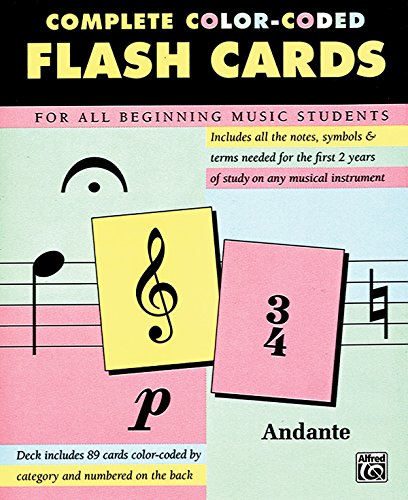 9780739015575: Complete Color Coded Flash Cards for All Beginning Music Students