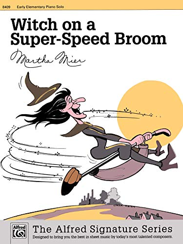 Witch on a Super-Speed Broom: Sheet: Alfred Music