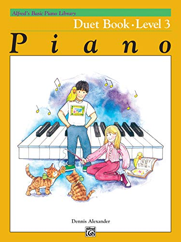 9780739015926: Alfred's Basic Piano Library Duet Book, Bk 3