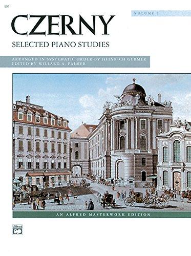 Czerny -- Selected Piano Studies, Vol 1