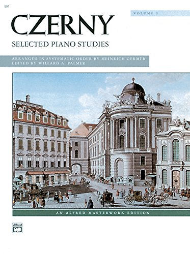 9780739015971: Czerny -- Selected Piano Studies, Vol 1 (Alfred Masterwork Edition)
