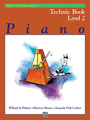 9780739016312: Alfred's Basic Piano Library Technic, Bk 2