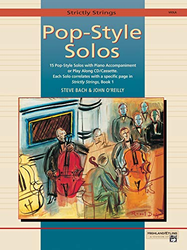9780739016350: Strictly Strings Pop-Style Solos: Viola