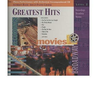 9780739016626: Alfred's Basic Adult Piano Course Greatest Hits: Level 1 (CD)