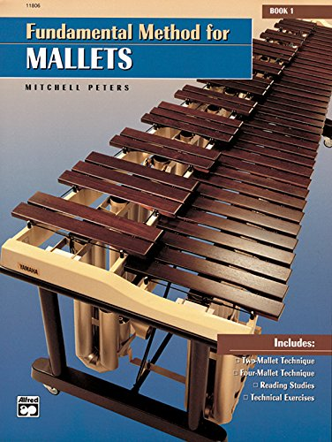 9780739017029: Fundamental Method for Mallets. Book 1 --- Percussions - Peters, Mitchell --- Alfred Publishing