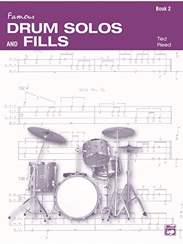 9780739017036: Drum Solos and Fill-Ins for the Progressive Drummer, Bk 2 (Ted Reed Publications)