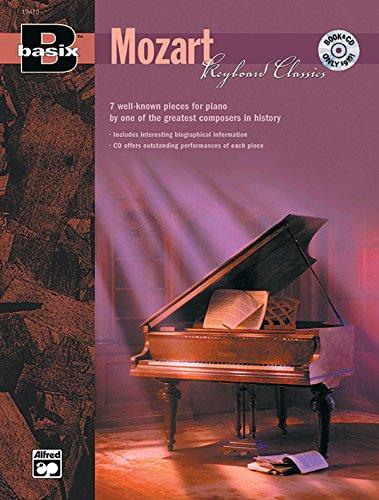 9780739017210: Basix Keyboard Classics Mozart: Book & CD (Basix[R] Series)