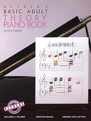 9780739017272: Alfred's Basic Adult Theory Piano Book, Level 3