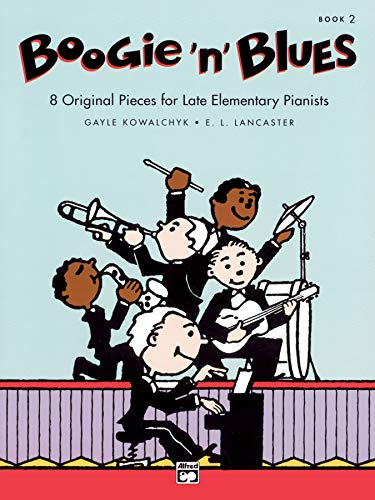 9780739017326: Boogie 'n' Blues, Bk 2: 8 Original Pieces for Late Elementary Pianists