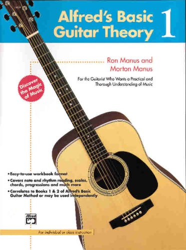 9780739017623: Alfred's Basic Guitar Theory (Alfred's Basic Guitar Library)