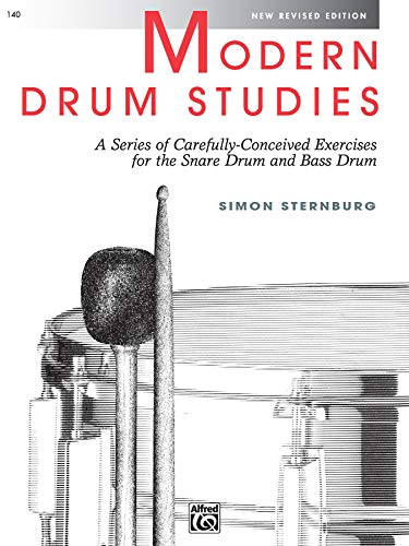 9780739018255: Modern Drum Studies: A Series of Carefully Conceived Exercises for the Snare Drum and Bass Drum