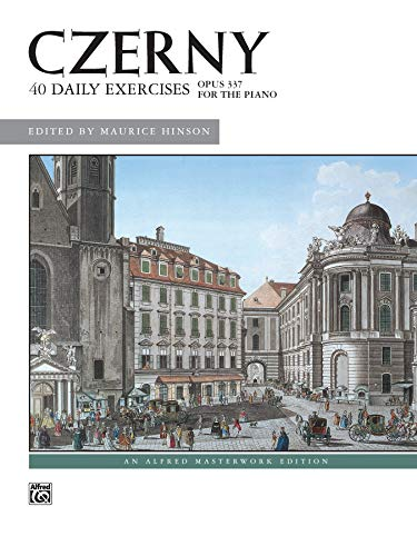 9780739018422: Czerny -- 40 Exercises, Op. 337 (Alfred Masterwork Edition)