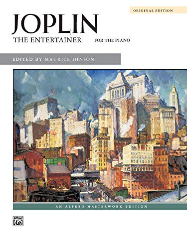 9780739018590: The Entertainer: Sheet (Alfred Masterwork)