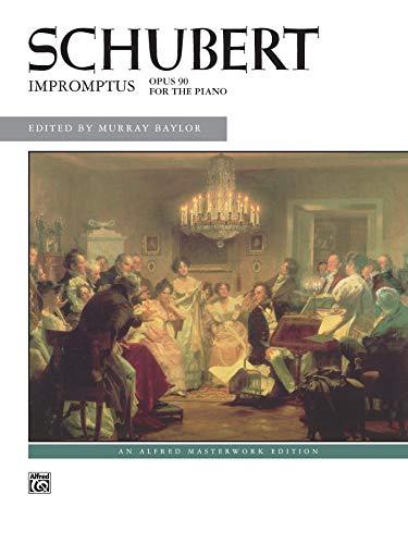 9780739018637: Schubert -- Impromptus, Op. 90 (Alfred Masterwork Edition)