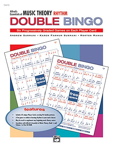 9780739018705: Alfred's Essentials of Music Theory: Rhythm Double Bingo