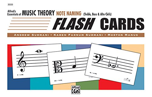 9780739018774: Alfred's Essentials of Music Theory: Note Naming Flash Cards
