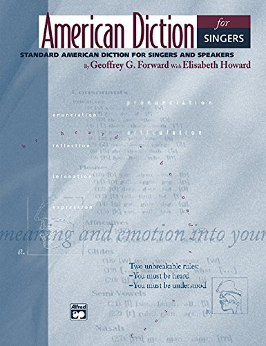 9780739019207: American Diction for Singers