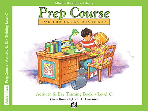9780739019351: Prep Course Activity & Ear Training, Level C (Alfred's Basic Piano Library)
